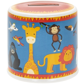 Little Stars Money Box Zoo 10cm