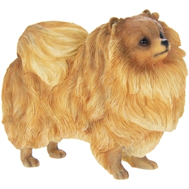 Pomeranian Dog Ornament 13cm