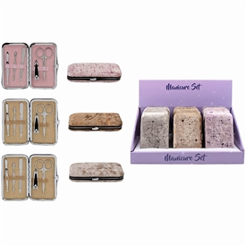 Glitter Manicure Set 3 Assorted 12cm