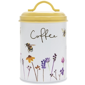 Busy Bee Coffee Canister