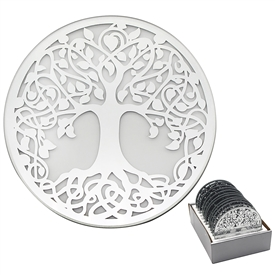 Tree Of Life Candle Plate 10cm