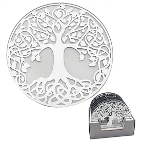 Tree Of Life Candle Plate 20cm