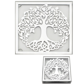 Tree Of Life Coasters 10cm