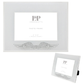 Angel Wing Photo Frame 6x4