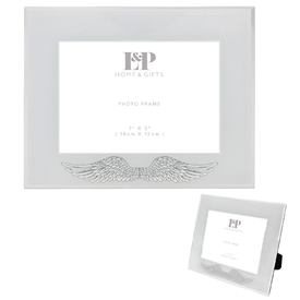 Angel Wing Photo Frame 7x5