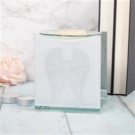 Angel Wings Glass Oil Burner