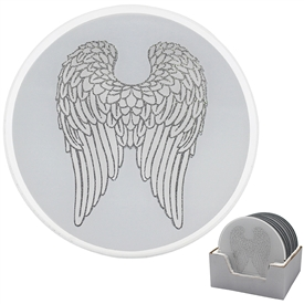 Angel Wing Candle Plate 20cm