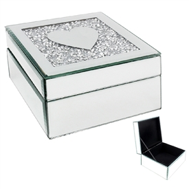 Multi Crystal Jewellery  Box