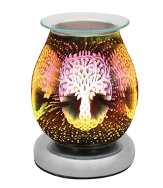 Touch Sensitive Round Aroma Lamp