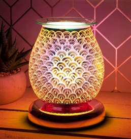 Touch Sensitive Aroma Lamp (Rosegold Base)