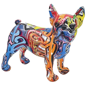 Graffiti French Bulldog Ornament