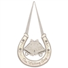 Wedding Bells Horseshoe Plaque