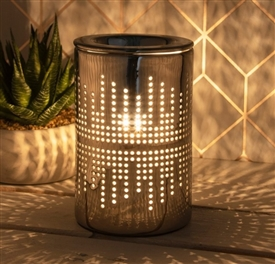 Silver Aroma Lamp