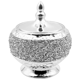 Silver Sparkle Trinket Box