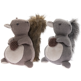 Squirrel Doorstop 2 Assorted