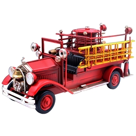 Vintage Fire Engine 30cm