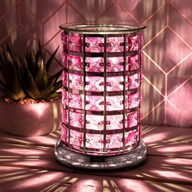 Crystal Touch Sensitive Aroma Lamp Lilac