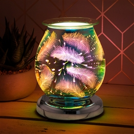 Touch Sensitive Round Aroma Lamp � Feather