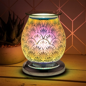 Touch Sensitive Round Aroma Lamp � Fan