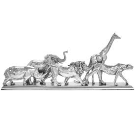 Silver Art Animal Kingdom Ornament