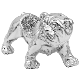 Millie Crystal Ornament Bulldog