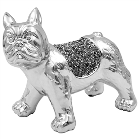 Millie Crystal Ornament French Bulldog