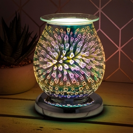 Touch Sensitive Round Aroma Lamp � Heart