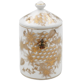 Honeycomb Bee Candle Jar