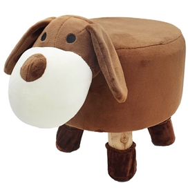 Plush Dog Stool 45cm