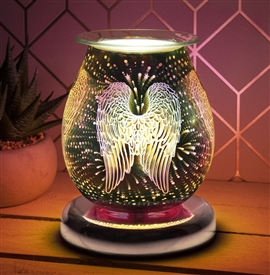 Desire Round Aroma Lamp - Guardian Angel Wings