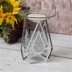 Mirror Crystal Oil Burner