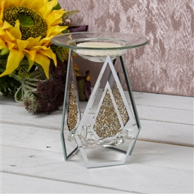 Gold Crystal Oil Burner