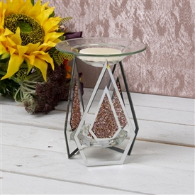 Red Crystal Oil Burner