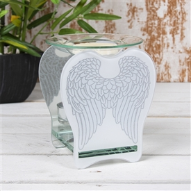 Angel Wing Glass Oil Burner