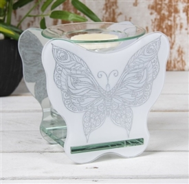 Butterfly Glass Oil Burner