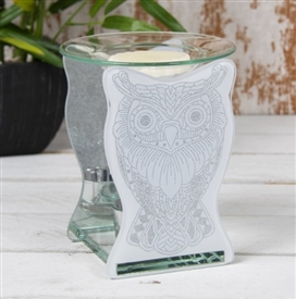 Owl Glass Oil Burner
