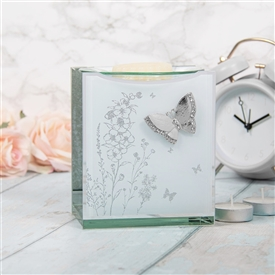 Mirror Butterfly Oil Burner