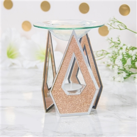 Rose Gold Glitter Diamond Oil/Wax Warmer