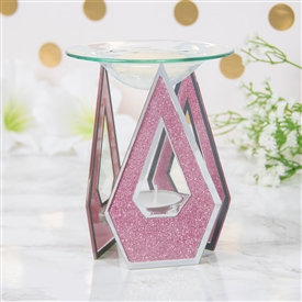 Pink Glitter Diamond Oil/Wax Warmer