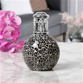 Glass Mosaic Fragrance Lamp - Black