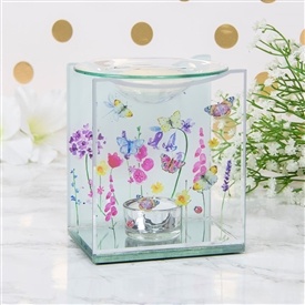 Butterfly Garden Oil Burner