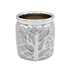 Silver Tree Of Life Planter 12cm