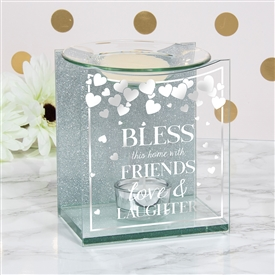 Sentiments Wax/Oil Warmer Friends 14cm