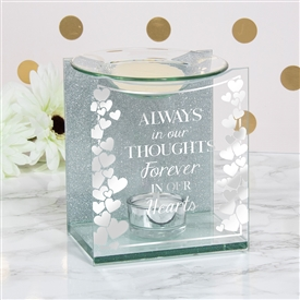 Sentiments Wax/Oil Warmer Thoughts 14cm