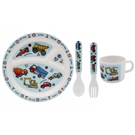 Vehicles Feeding Set