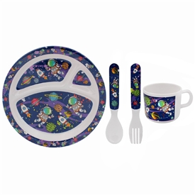 Spaceman Feeding Set