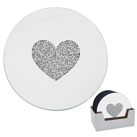 Heart Candle Plate 15cm