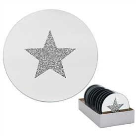 Star Candle Plate 10cm