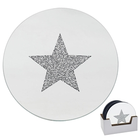 Star Candle Plate 15cm