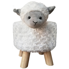 Plush Children's Stool Sheep